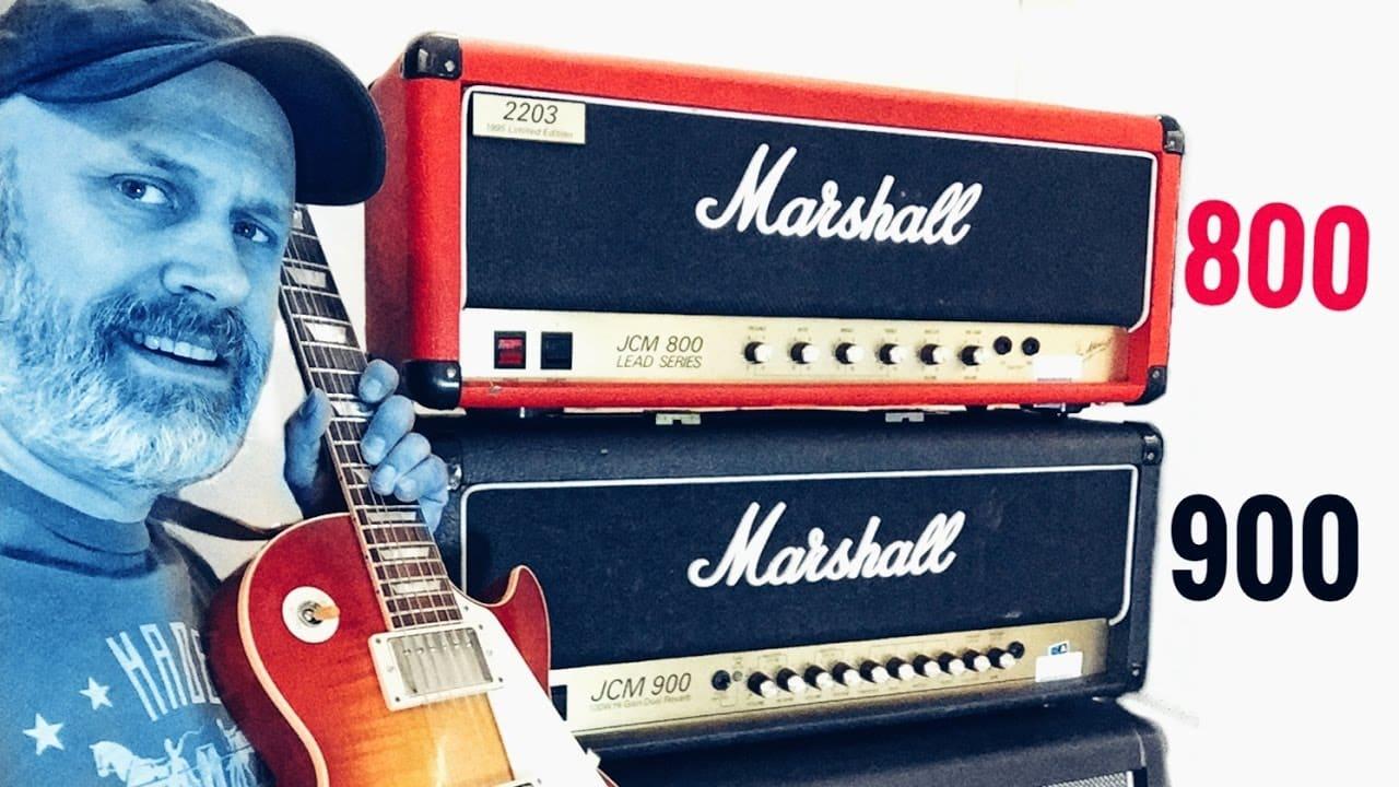 Marshall JCM800 vs 900
