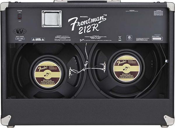 dual 12-inch speakers