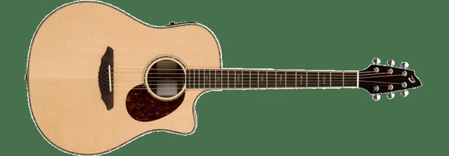 image of a  Koran-manufactured guitars