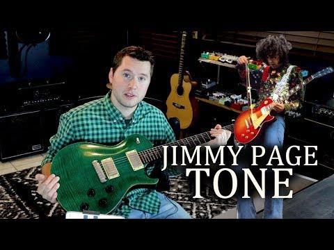 illustrative image of Jimmy page string gauge