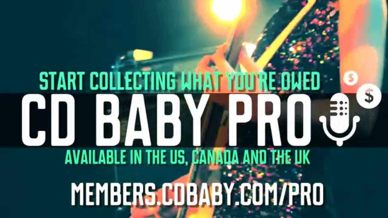 illustrative image of CD baby pro